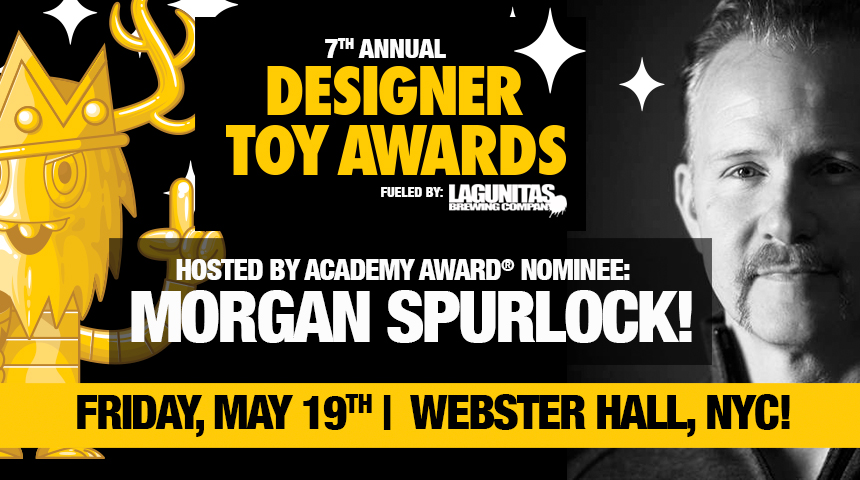 Morgan Spurlock to host The 7th Annual Designer Toy Awards!!