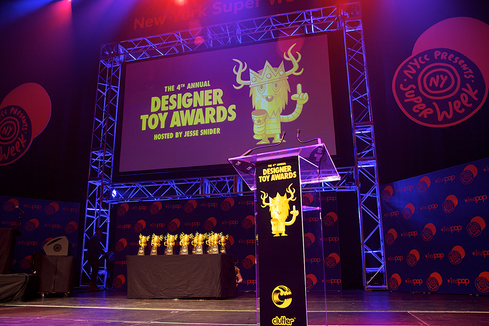 Toys For Awards : Designer toy awards highlights
