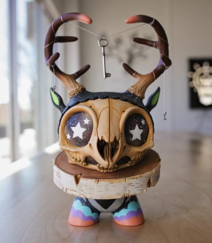 "Custom 8"" Kidrobot Dunny"
